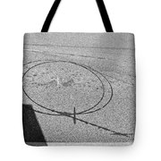 Shape And Shadow No.50 Gray Version Tote Bag