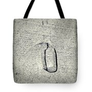 Shape No. 28 Gray Scale Version Tote Bag