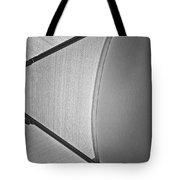 Shape No.3 Light Gray Scale Tote Bag