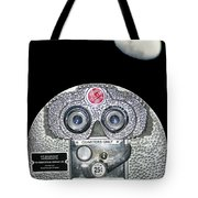 Shape Of The Moon Tote Bag