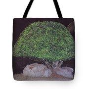 Shaped Tree Tote Bag