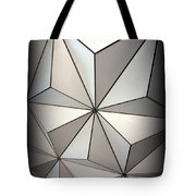Shapes In Steel Tote Bag