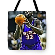 Shaquille O'neal Tote Bag by Florian Rodarte