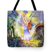 Share The Simple Pleasures Tote Bag