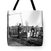 Sharecropper Family, C1900 Tote Bag