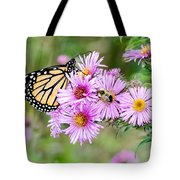 Sharing Nicely  Tote Bag