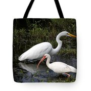 Sharing The Fishing Grounds Tote Bag