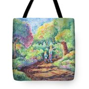Sharing The Journey Tote Bag
