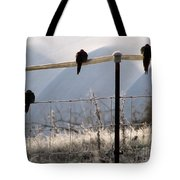 Sharing The Morning News Tote Bag
