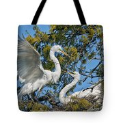 Sharing The Nest Tote Bag