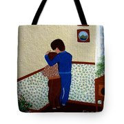 Sharing The Punishment Tote Bag