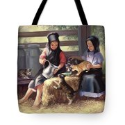Sharing With A Friend Tote Bag
