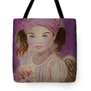 Sharissa Little Angel Of New Beginnings Tote Bag