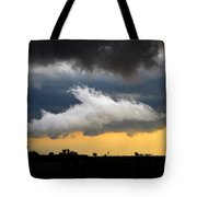 Shark Cloud Tote Bag by David Lee Thompson