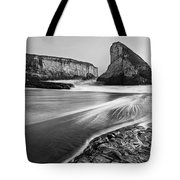 Shark Fin Cove At Dusk. Tote Bag by Jamie Pham