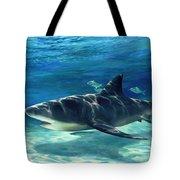 Shark In Depth Tote Bag