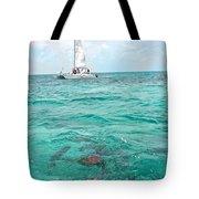 Shark N Sail I Tote Bag