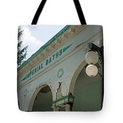 Sharon Springs Imperial Bath 2 Tote Bag