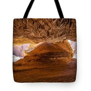 Sharp Curve In A Canyon Tote Bag