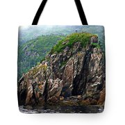 Sharp Jagged Rocks  Tote Bag