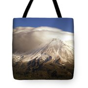 Shasta Storm Tote Bag by Bill Gallagher