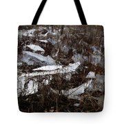 Shattered Field Tote Bag