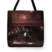 Shattered Window Tote Bag