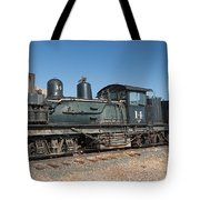 Shay Engine 14 In The Colorado Railroad Museum Tote Bag