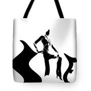 She Black Tote Bag