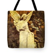 She Glows In Autumn Tote Bag