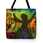 She Rejoices Singing Sweet Songs Of Triumph Tote Bag