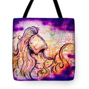 She Rose From Fire  Tote Bag
