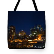 She Sparkles In The Night Tote Bag