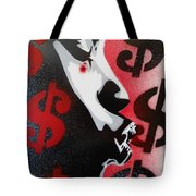 She Takes My Money Tote Bag