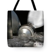 She Waits Tote Bag