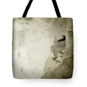 She Watches The Sunrise Tote Bag