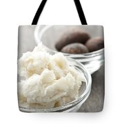 Shea Butter And Nuts In Bowls Tote Bag