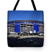 Shea Stadium - New York Mets Tote Bag by Frank Romeo