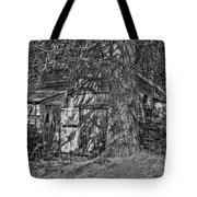 Shed Bw Tote Bag