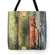 Shed Door Tote Bag