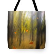 Shed Leaves Tote Bag