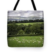 Sheep And More Sheep Tote Bag