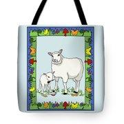 Sheep Artist Sheep Art II Tote Bag