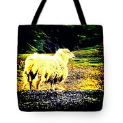 Don't You Look At Me With That Sheep Attitude  Tote Bag