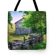 Sheep Barn Tote Bag