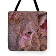 Sheep Close Up 2 Tote Bag