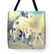 It's So Sheep To Be In The Middle Of A Crowd Tote Bag