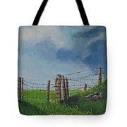 Sheep Field Tote Bag
