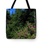 Sheep Laurel Shrub Tote Bag