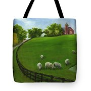 Sheep May Safely Graze Tote Bag